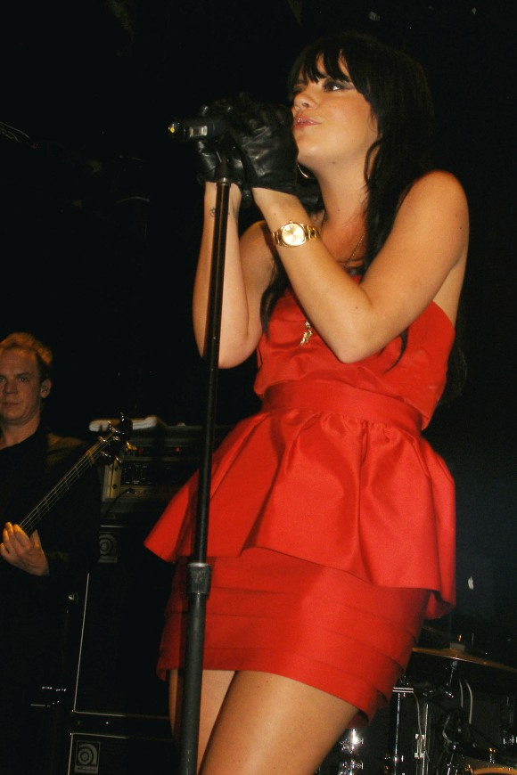 lily allen bowery 110209